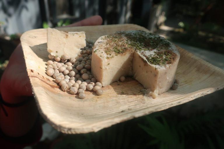 fromage végétal pois d'angole