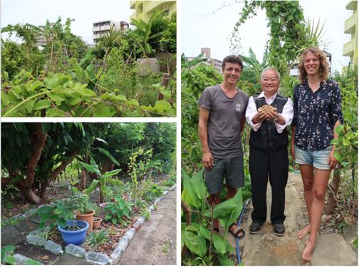 Visite de la ferme de Teruo Higa avec Corentin