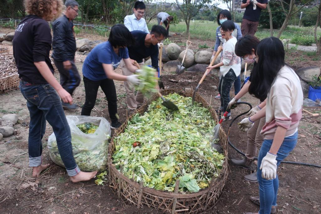 transformation des déchets en sol nourricier