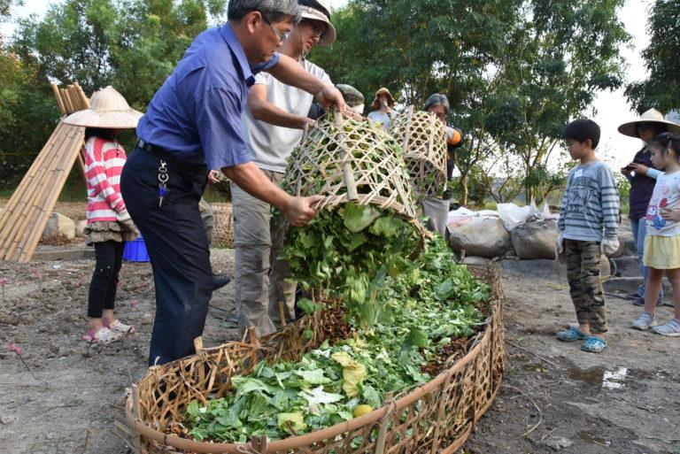 fabrication de sol nourricier à partir des déchets de la ville