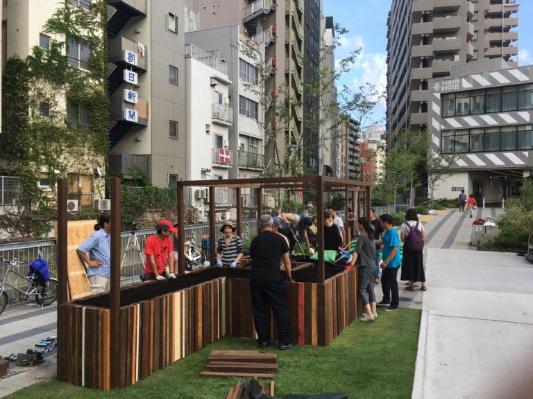 agriculture urbaine participative à Tokyo