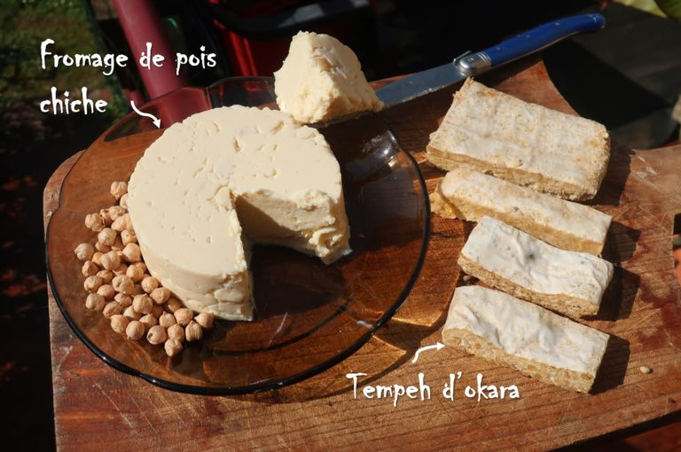 fromage végétal de légumineuses